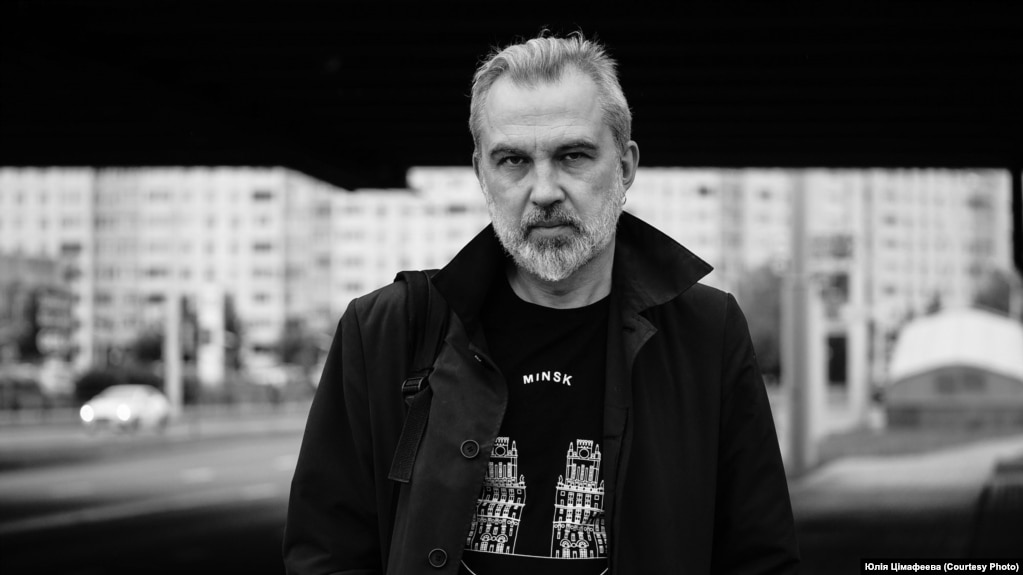 Альгерд Бахарэвіч. Фота Юліі Цімафеевай