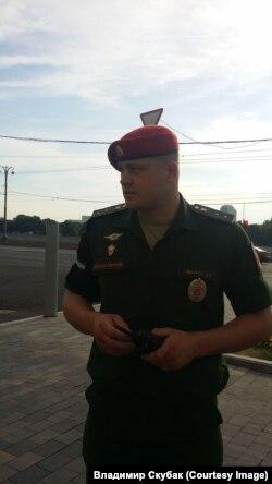 Военнослужащий, принимавший участие в нападении