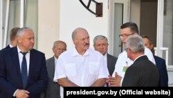 Аляксандар Лукашэнка падчас паездкі ў Гомель, 10 жніўня 2018