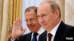 Володимир Путін та Сергій Лавров