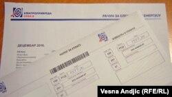 Načić: 'Ljudi koji recimo vode finansije Elektroprivrede Srbije, koja ima desetine hiljada zaposlenih, ili Naftne industrije Srbije ne moraju da imaju nikakav sertifikat' (Na forografiji računi EP Srbije)