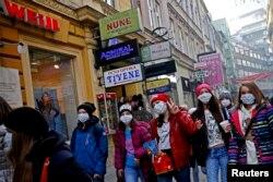 Djeca sa maskama, Sarajevo decembar 2015.