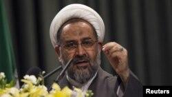 Former Iranian Intelligence Minister Heydar Moslehi (file photo)