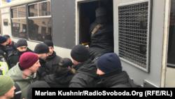 Задержания в Киеве, 9 февраля 2019 года.