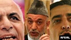 Trei dintre candidații la președinție