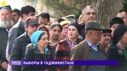 Выборы президента РФ в Таджикистане: люди стоят в очередях, чтобы проголосовать