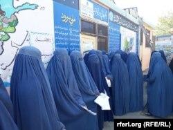 Голосование в Кабуле. Афганистан, 20 октября 2018 года.