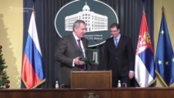 Russian Deputy PM Rogozin Discusses Arms Deals With Serbia