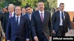 Francois Hollande Bakıda
