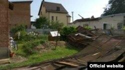 Наслідки негоди на Івано-Франківщині, фото ДСНС