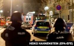 La Hanau, după atac, 20 februarie 2020
