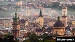 Панорама старого Львова
