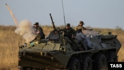 Военные учения России на Кавказе