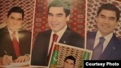 Gurbanguly Berdimuhamedowyň portretleri