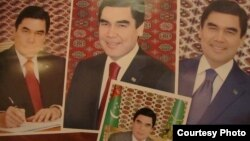 Prezidentiň portretleri