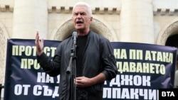 Волен Сидеров организира протест пред съдебната палата срещу предсрочното освобождаване на Джок Полфрийман