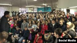 Открытие штаба Алексея Навального в Самаре. Фото @EvgenyFeldman