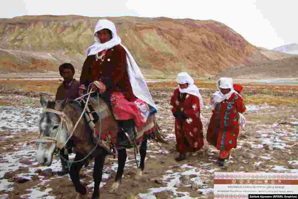 Традиционное занятие кыргызов на Памире - кочевое скотоводство. Здесь разводят овец, лошадей и яков.