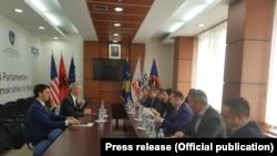 Nga takimi i LDK-së me ambasadorin Greg Delawie