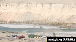 Юқори Норин ГЭСи барпо этилиши режалаштирилган ҳудуд.