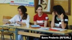 Sa lokalnih izbora, Podgorica, maj 2014.