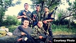 Андрей Лозинский стоит крайний слева. 2014 год