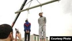 اعدام ها در ایران طی سال جاری به شدت افزایش یافته است.