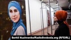 Аміна Окуєва – ветеран АТО, чеченська активістка. Була вбита 30 жовтня 2017 року