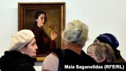 За свою любовь к цвету и мастерство Александра Бажбеук-Меликова можно считать грузинским колористом номер один