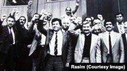 İstiqlalçı deputatlar. 18 oktyabr 1991