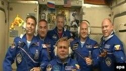 Екипажот на Меѓународната вселенска станица.