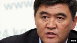 Ата-Журт партияси лидери Қамчибек Ташиев.