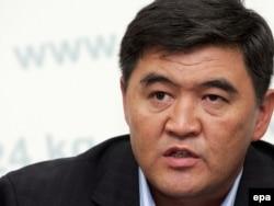 Камчыбек Ташиев, 2010-жылдын 12-октябры.