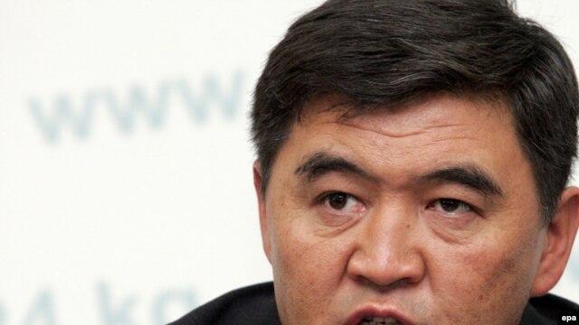 Ata-Jurt leader Kamchibek Tashiev (file photo)