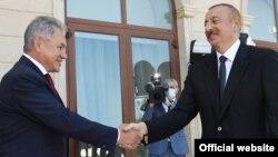 İlham Əliyev və Sergei Shoigu, Bakı, 25 avqust 2020