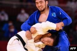 Поединок Сметова против японца Такато, 24 июля 2021 года