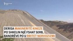 Një fshat serb kërkon ndihmë për ndotjen nga mihja kineze