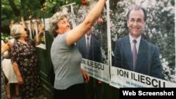 La primele alegeri libere în mai 1990...