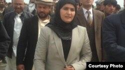 ذکیه سنگین نماینده مردم پروان در ولسی جرگه افغانستان