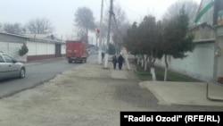 Один из кишлаков района Рудаки