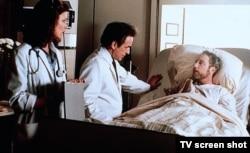 """Кадр из фильма """"Чья это жизнь, в конце концов?"""""""