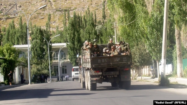 The Tajik government withdrew the 3,000 troops it sent in July following the killing of a security official. Does the central government have any control of the restive region?