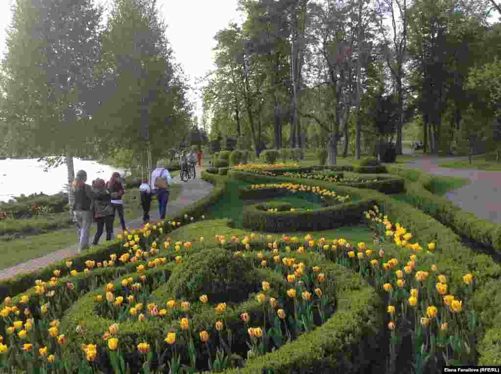 Работа садовых архитекторов