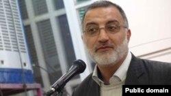 Alireza Zakani, an influetial figure in Khamenei's circle.