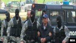 Arrestimi i pronarit të TV A1, Velija Ramkovskit, më 24 dhjetor 2010.