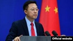 ژائو لیجیانگ، سخنگوی وزارت امور خارجه چین