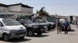 """Один из """"пятачков"""" такси в регионы в Душанбе"""