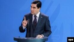 قربان گلی بردی محمدوف رئیس جمهور ترکمنستان