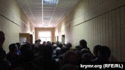 Верховный суд Крыма, где рассматривается уголовное дело, связанное с событиями 26 февраля. В коридоре суда
