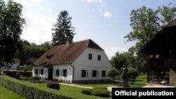 Rodna kuća Josipa Broza Tita u Kumrovcu - ilustracija
